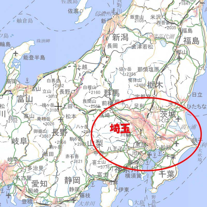 ハザードマップの画像